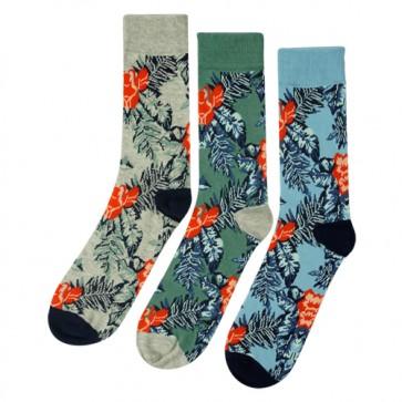 Fashion Floral Comfortable Crew Socks