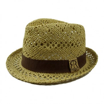 Hand By HandWomen's Sun Hat Summer Solid Band Straw Fedora