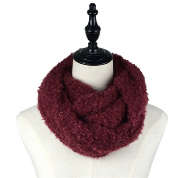Multi-Colored Winter Infinity Scarf