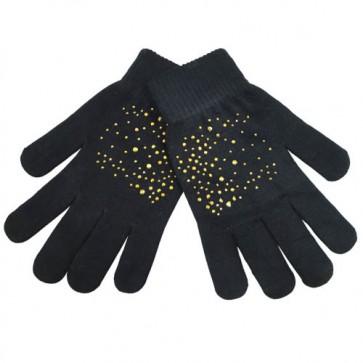 Custom Paillette Trimmed Magic Gloves