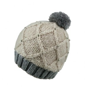 Custom Girls Woollen Bobble Hat