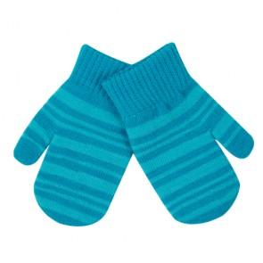 Children's Warm Stripe Mitten