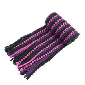 Fancy Women's Winter Fringed Knitted Scarf