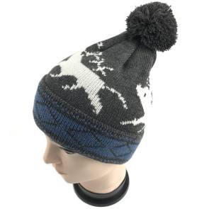 Custom Men's Knit Beanies Unisex Stretches to Fit Most
