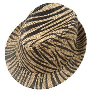Men's Unique Design Men's Short Brim Paper Straw Hat