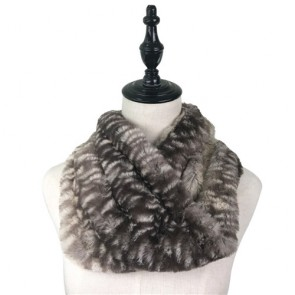 Comfy Winter Soft Furry Circle Scarf