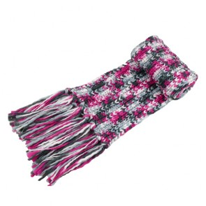 Comfy Women's Winter Fringed Knitted Muffler