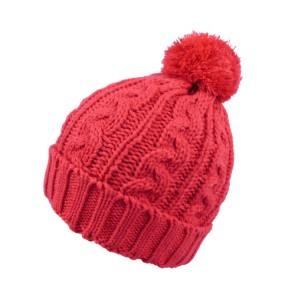 Custom Girls Simplicity Woollen Red Hat