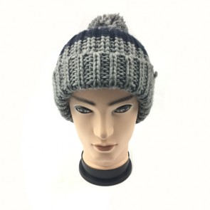 Custom Thermal Knitted Hat in Dim Grey