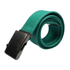 Custom Men Adjustable Webbed Canvas Belts