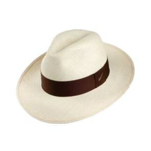 Custom Mens Summer Straw Fedora Hats with Band