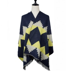 Oversized Reversible Woven Shawl