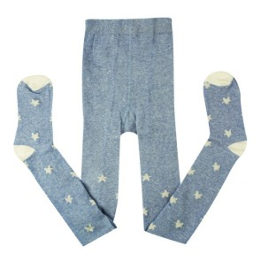 Blue Star Pattern Baby Tights