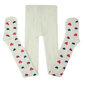 White Custom Baby Gril Tights