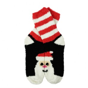 Lovely Santa Pattern Warm Winter Christmas Kids' Socks