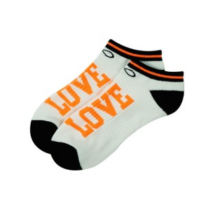 Custom Word Love Unisex Ankle Socks Simple Cute