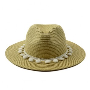 Custom Ladies Summer Beach Fedora Sun Hat