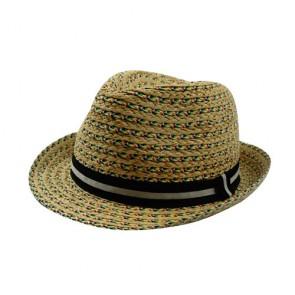 Custom Lady Handmade Straw Hat Fedora Hat