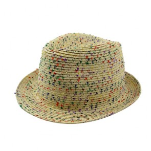 Custom Mens Paper Straw Hat Fedora Hat For Sale