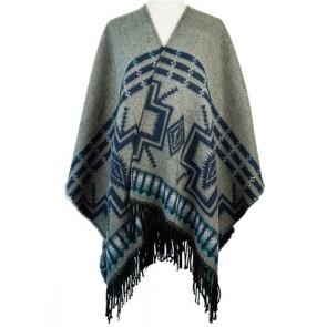 Oversized Wool Blended Wrap