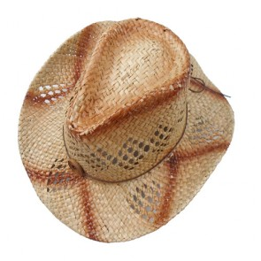 Custom Unisex Simplicity Hat with Belt Wide Brim