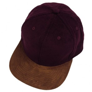 Unisex Casual Corduroy Baseball Caps with Button
