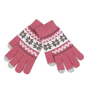 Jacquard Winter Touch Screen Gloves