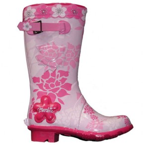Fashion 3D Galoshes Rain Boot with Flowers For Sale