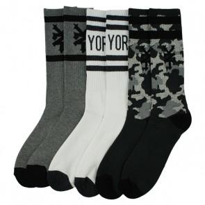 3 Pack Sports Cushioned Socks