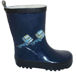 The Custom Child Navy Rain Boot Rain Shoes