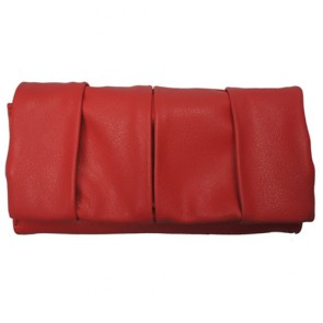 Leather Continental Clutch Wallet