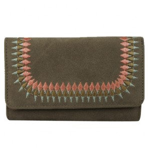Travel Suede Leather Custome Wallet