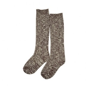 Winter Warm Wool Blend High Boot Socks