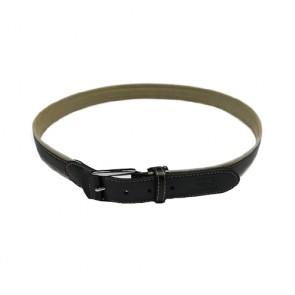 Custom Men's Leather Reversible Stitch Belt