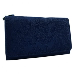 Custom Women's Embossed Long Wallet