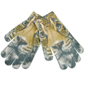 Cool Tiger Print Magic Gloves