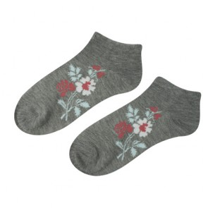 Women Low Cut Fancy Design Ankle Socks