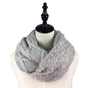Custom Warm Winter Women's Crochet Scarf