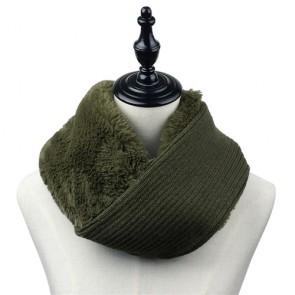 Custom Supper Quality Faux Fur Crochet Scarf
