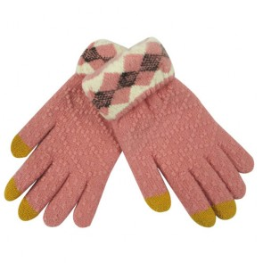 Jacquard Touch Screen Winter Gloves