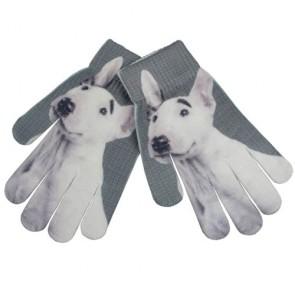 Bull Terrier Children's Winter Cute Magic Gloves