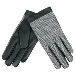 Bestselling Zig-Zag Pattern Men's Nappa Leather Gloves