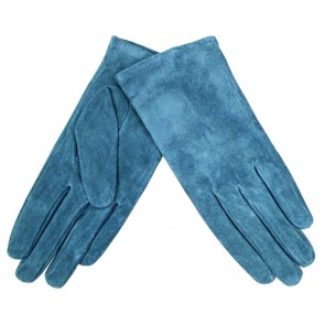 Custom Women Soft  Warm Full-Finger Lined Leather Gloves