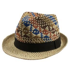 Men's Sun Hat Summer Paper Straw Hat