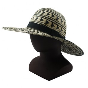 Custom Promotional Wide Brim Sun Straw Hats Women Straw Hat for Sale