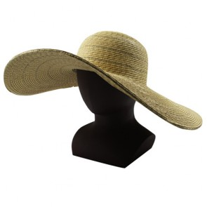 Custom Shining Fashion Wide Brim Wholesale Summer Women Straw Hat