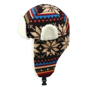 Jacquard Winter Unisex Warm Trapper Hat
