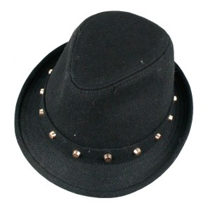 Popular Men's Studded Skull Trilby