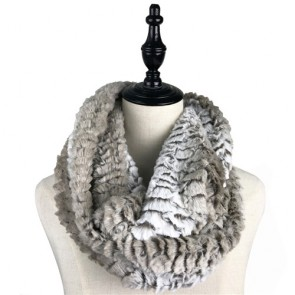 Cozy Winter Faux Fur Cowl Scarf