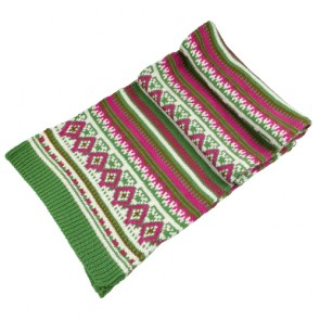 Colorful Winter Knitted Scarf